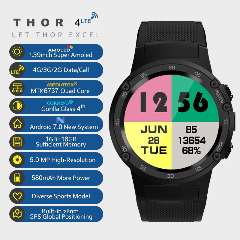 Zeblaze THOR 4 Smartwatch Flagschiff
